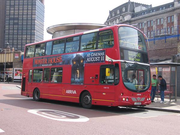 Arriva London VLW172 060815 Waterloo