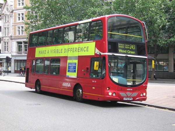 Arriva London VLW126 060801 Aldwych