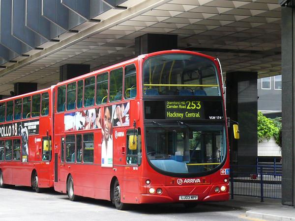 Arriva London VLW174 110905 Euston