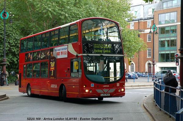 Arriva London VLW180 100725 Euston Station [jg]