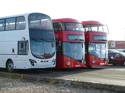 London United LT162. LT163 140216 Heysham