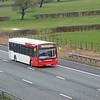 National Express West Midlands 867 150313 M6 [Barnacre]
