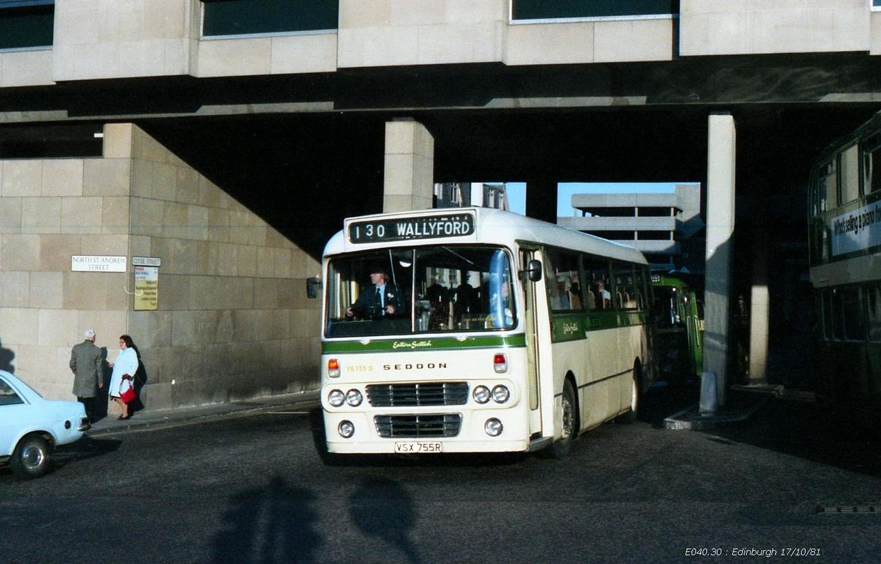 Eastern Scottish YS755 811017 Edinburgh [jg]
