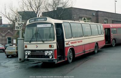 Yorkshire Traction 154 830212 Barnsley [jg]