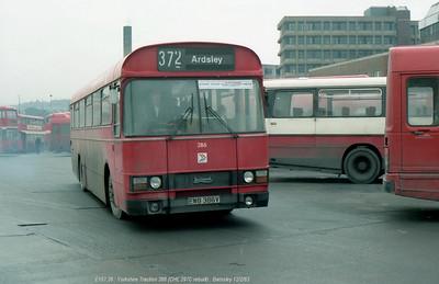 Yorkshire Traction 386 830212 Barnsley [jg]