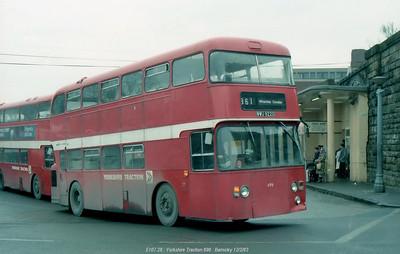 Yorkshire Traction 696 830212 Barnsley [jg]