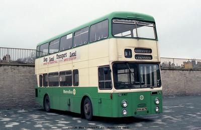 West Yorkshire PTE 4167 830319 Huddersfield [jg]