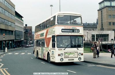 West Yorkshire PTE 6314 830319 Huddersfield [jg]