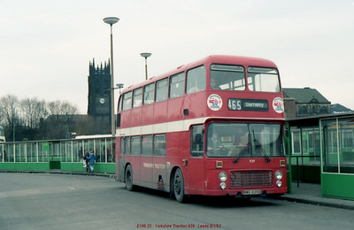 Yorkshire Traction 939 830108 Leeds [jg]