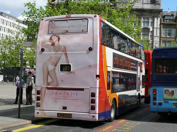 The Rear Advert Bus
